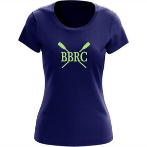 100% Cotton Buzzards Bay Rowing Club Women's Team Spirit T-Shirt