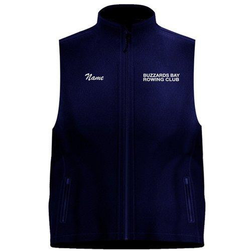 Buzzards Bay Rowing Club Team Nylon/Fleece Vest