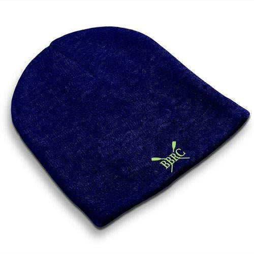 Straight Knit Buzzards Bay Rowing Club Beanie