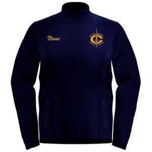 1/4 Zip Columbia Rowing Club Fleece Pullover