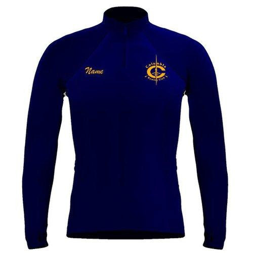 Columbia Rowing Club Ladies Pullover w/ Thumbhole