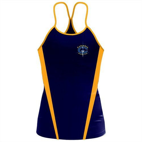 Columbia Rowing Club Women's Sassy Strap Tank
