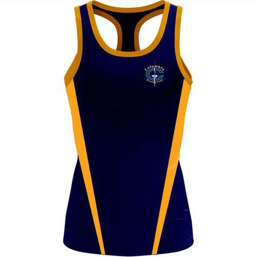 Columbia Rowing Club Women's T-back Tank