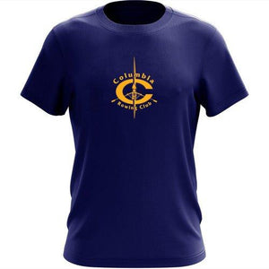 100% Cotton Columbia Rowing Club Men's Team Spirit T-Shirt
