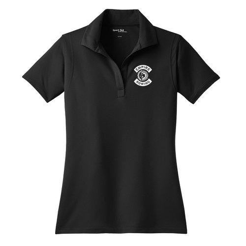 Empire Rowing Embroidered Performance Ladies Polo
