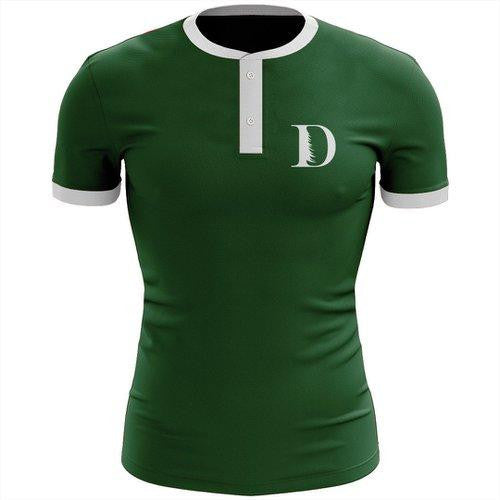 Ever Green Boat Club Uniform Henley Shirt