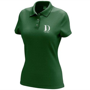 Ever Green Boat Club Embroidered Performance Ladies Polo