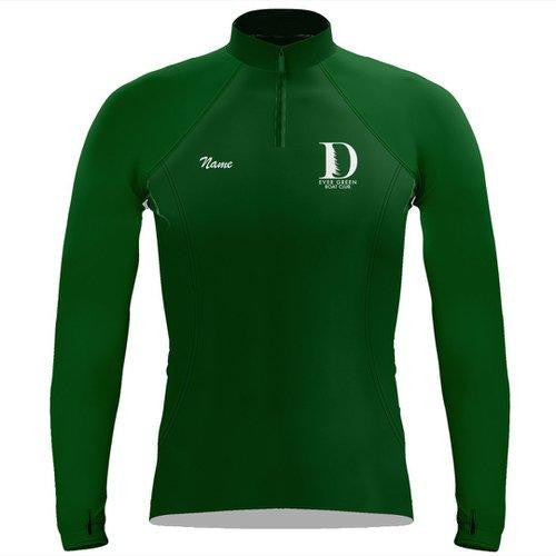 Ever Green Boat Club Ladies Performance Thumbhole Pullover