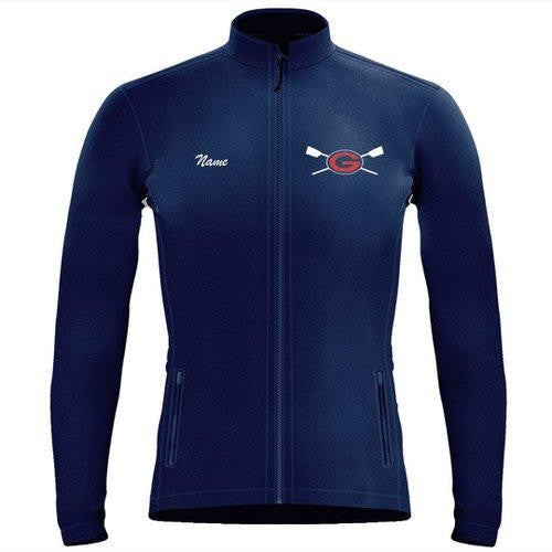 Full Zip Grassfield Crew Fleece Pullover