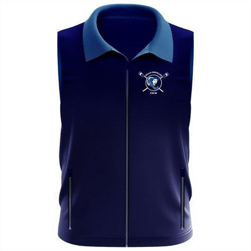 Hollis Brookline Crew Team Nylon/Fleece Vest