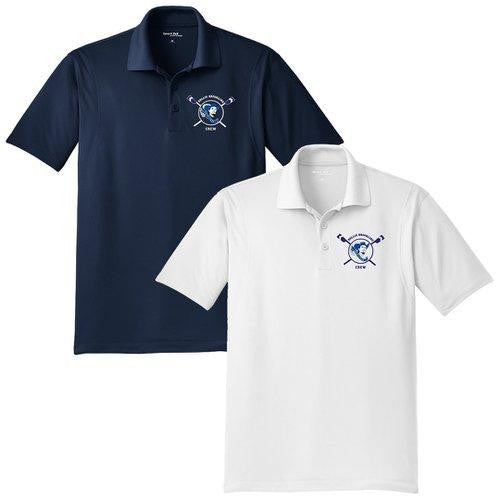 Hollis Brookline Crew Embroidered Performance Men's Polo