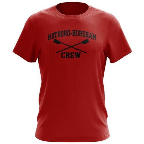 100% Cotton Hatboro Horsham Crew Men's Team Spirit T-Shirt