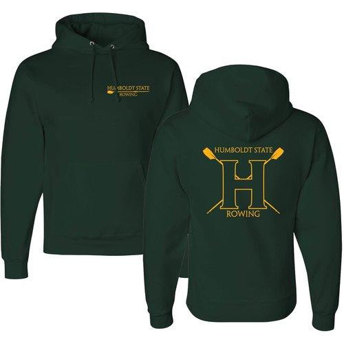 50/50 Hooded Humboldt State University Pullover Sweatshirt