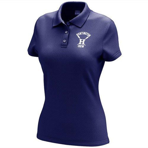 Huntington Crew Embroidered Performance Ladies Polo