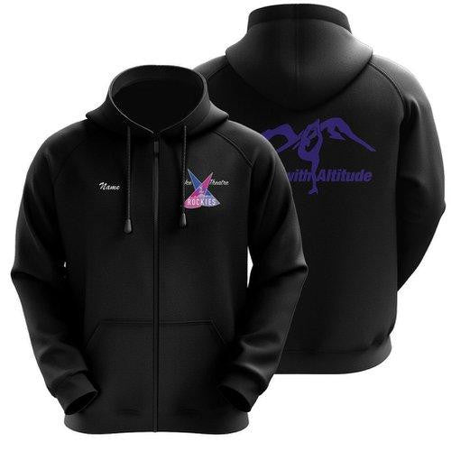 50/50 Hooded Ice Theatre of the Rockies Full Zip Sweatshirt