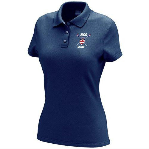 NCS Crew Embroidered Performance Ladies Polo