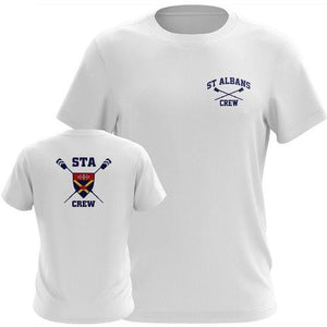 STA Crew Performance TS- White Short Sleeve