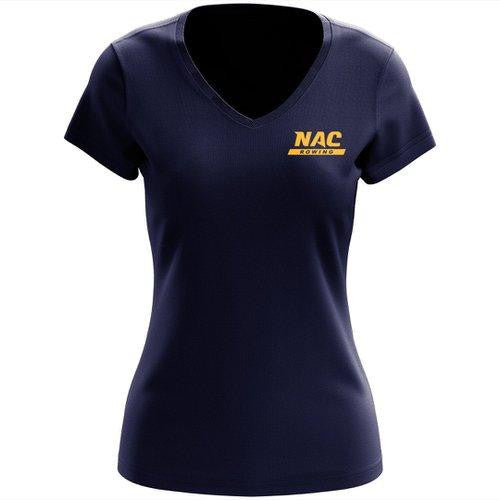 100% Cotton NAC Crew Women's V-Neck Tee