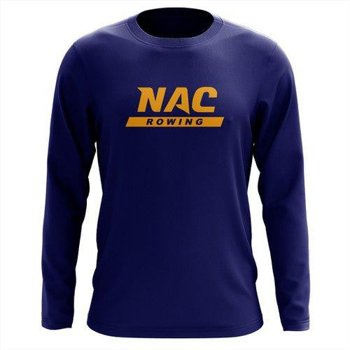 Custom NAC Crew Long Sleeve Cotton T-Shirt