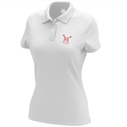 Princess Anne Crew Embroidered Performance Ladies Polo