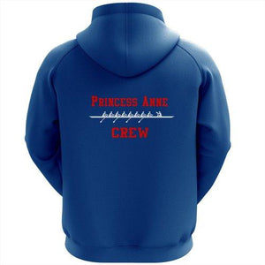 50/50 Hooded Princess Anne Crew Pullover Sweatshirt