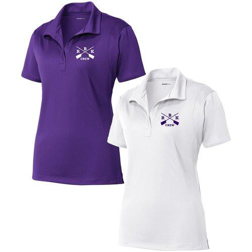 Rhinebeck Crew Embroidered Performance Ladies Polo