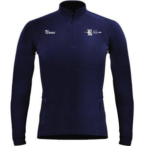 1/4 Zip Rice Crew Fleece Pullover