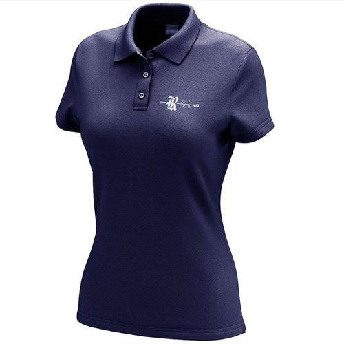 Rice Crew Embroidered Performance Ladies Polo