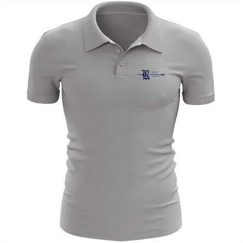 Rice Crew Embroidered Performance Men's Polo