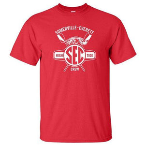 100% Cotton Somerville-Everett High Tide Crew Men's Team Spirit T-Shirt
