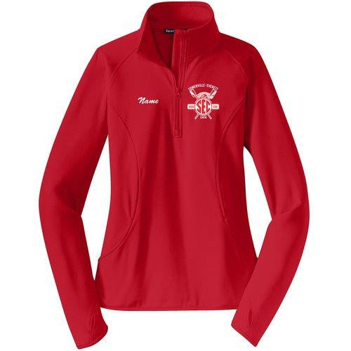 Somerville-Everett High Tide Crew Ladies Pullover w/ Thumbhole