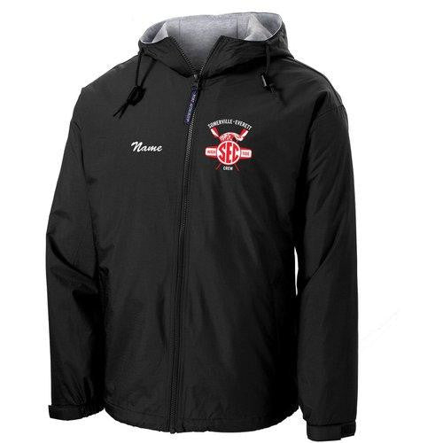 Somerville-Everett High Tide Crew Team Spectator Jacket