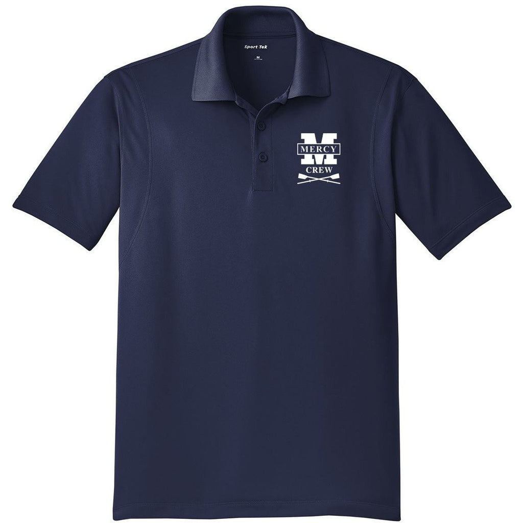Mercy Crew Embroidered Performance Men's Polo