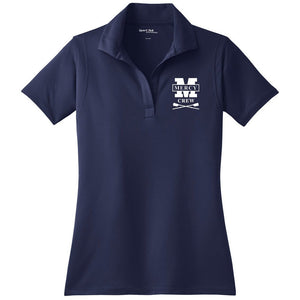 Mercy Crew Embroidered Performance Ladies Polo