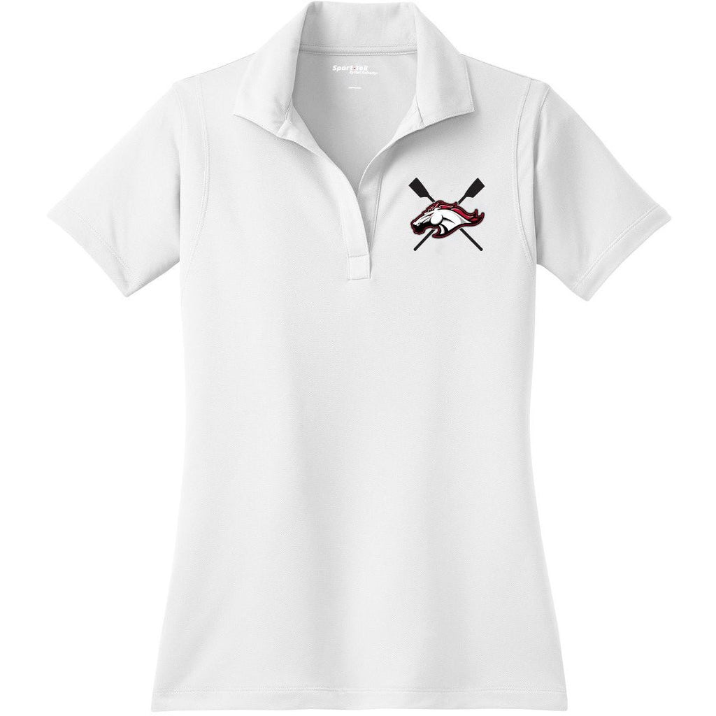 Brophy Crew Embroidered Performance Ladies Polo