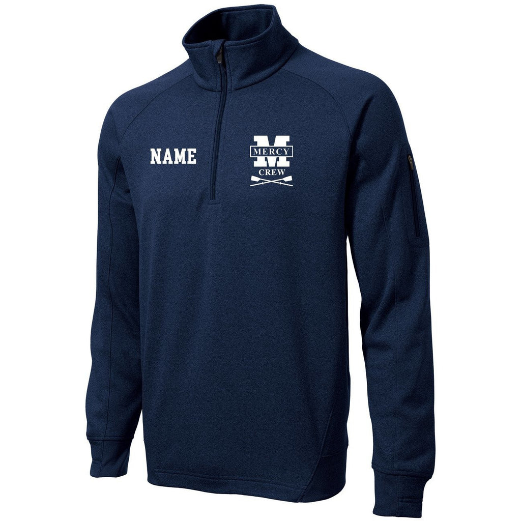 Mercy Crew Mens Performance Pullover