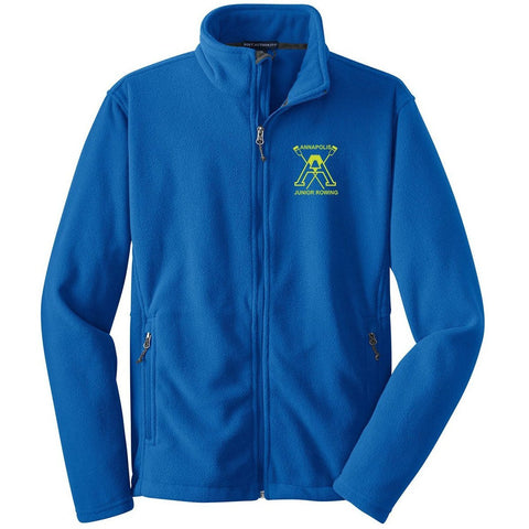 Full Zip Annapolis Junior Rowing Fleece Pullover