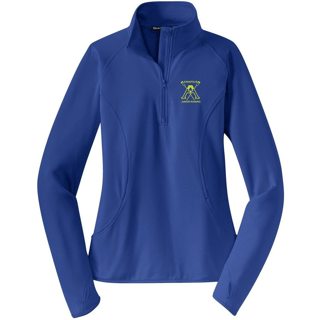 Annapolis Junior Rowing Ladies Performance Pullover w/ Thumbhole