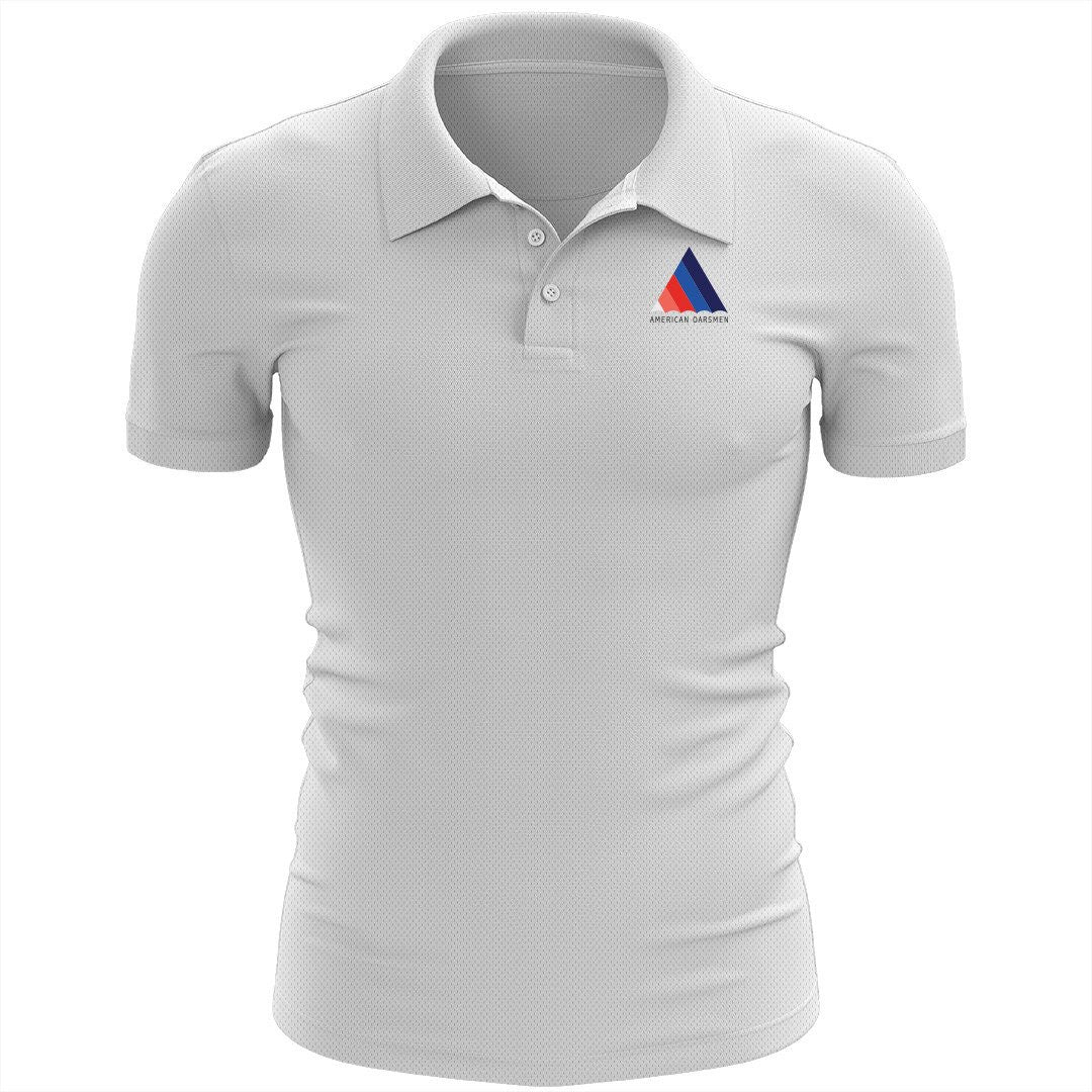 American Oarsmen Embroidered Performance Men's Polo