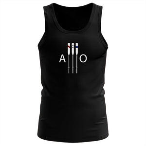 "100% Cotton American Oarsmen ""AO Supporter"" Tank Top"