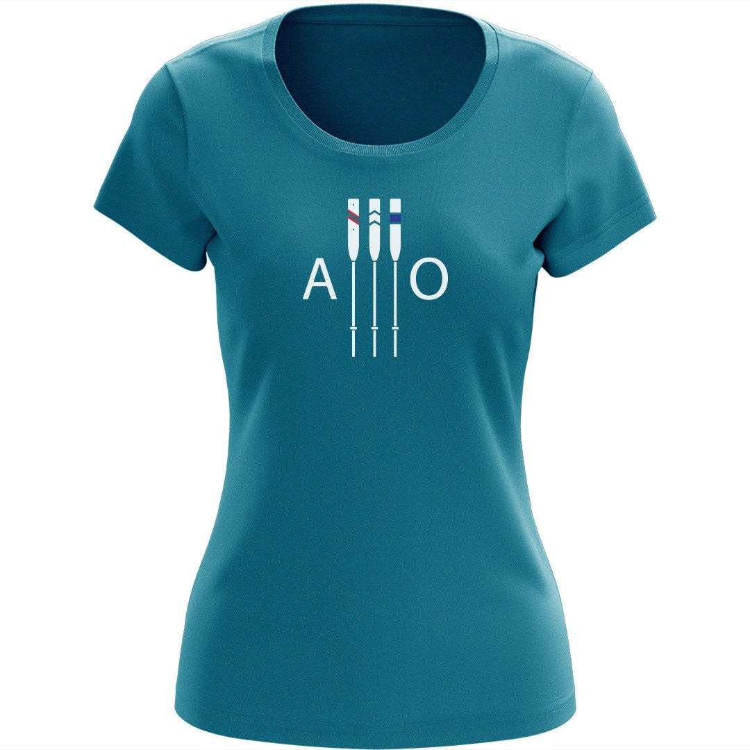 "100% Cotton American Oarsmen Women's ""AO Supporter"" T-Shirt"