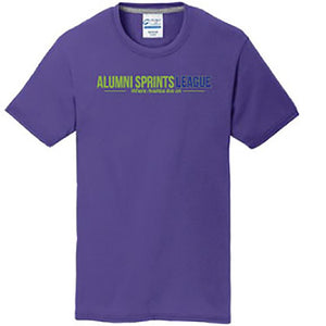 Short Sleeve Performance Wicking T-Shirt (Purple)