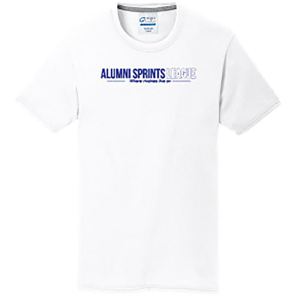 Short Sleeve Performance Wicking T-Shirt (White)