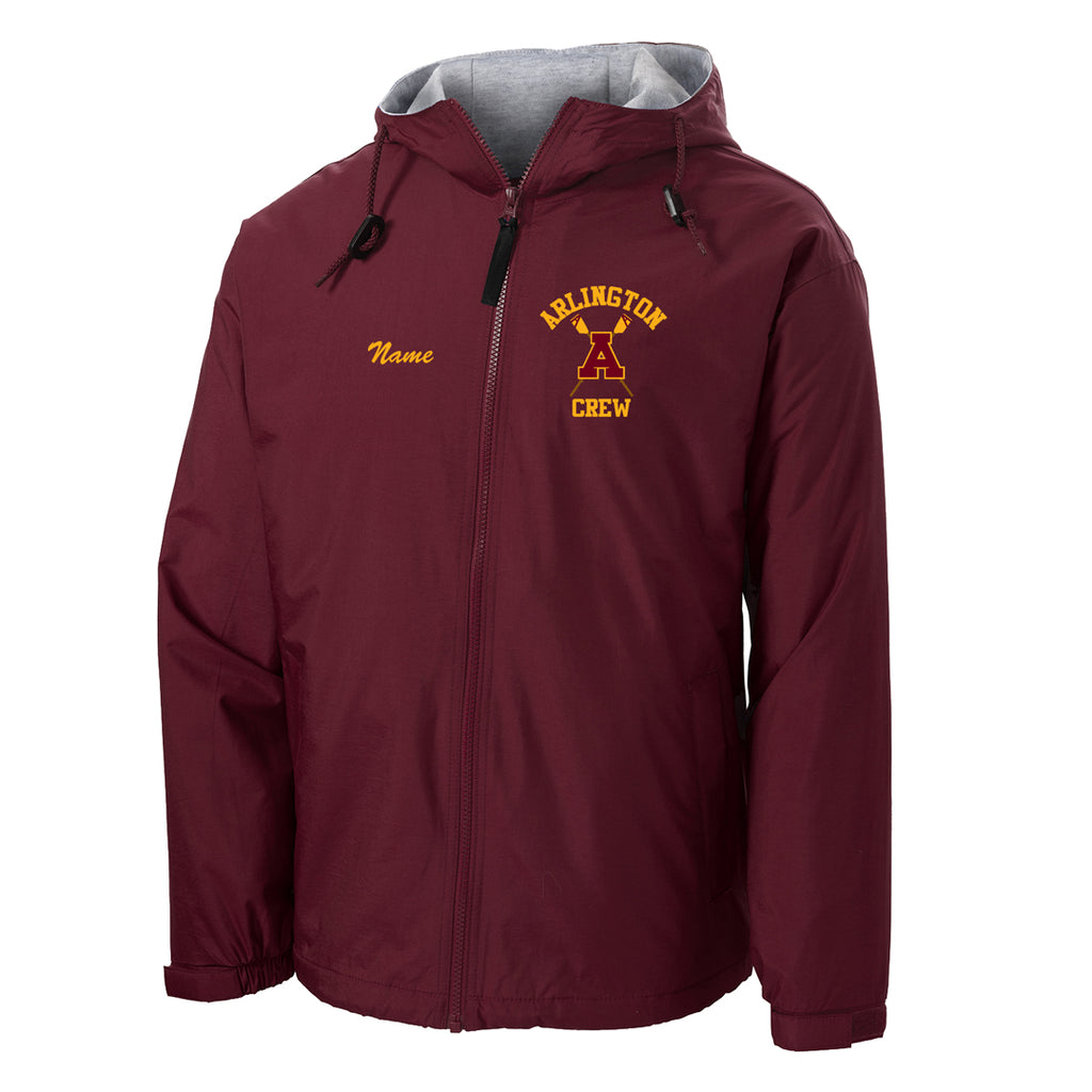 Arlington Crew Team Spectator Jacket
