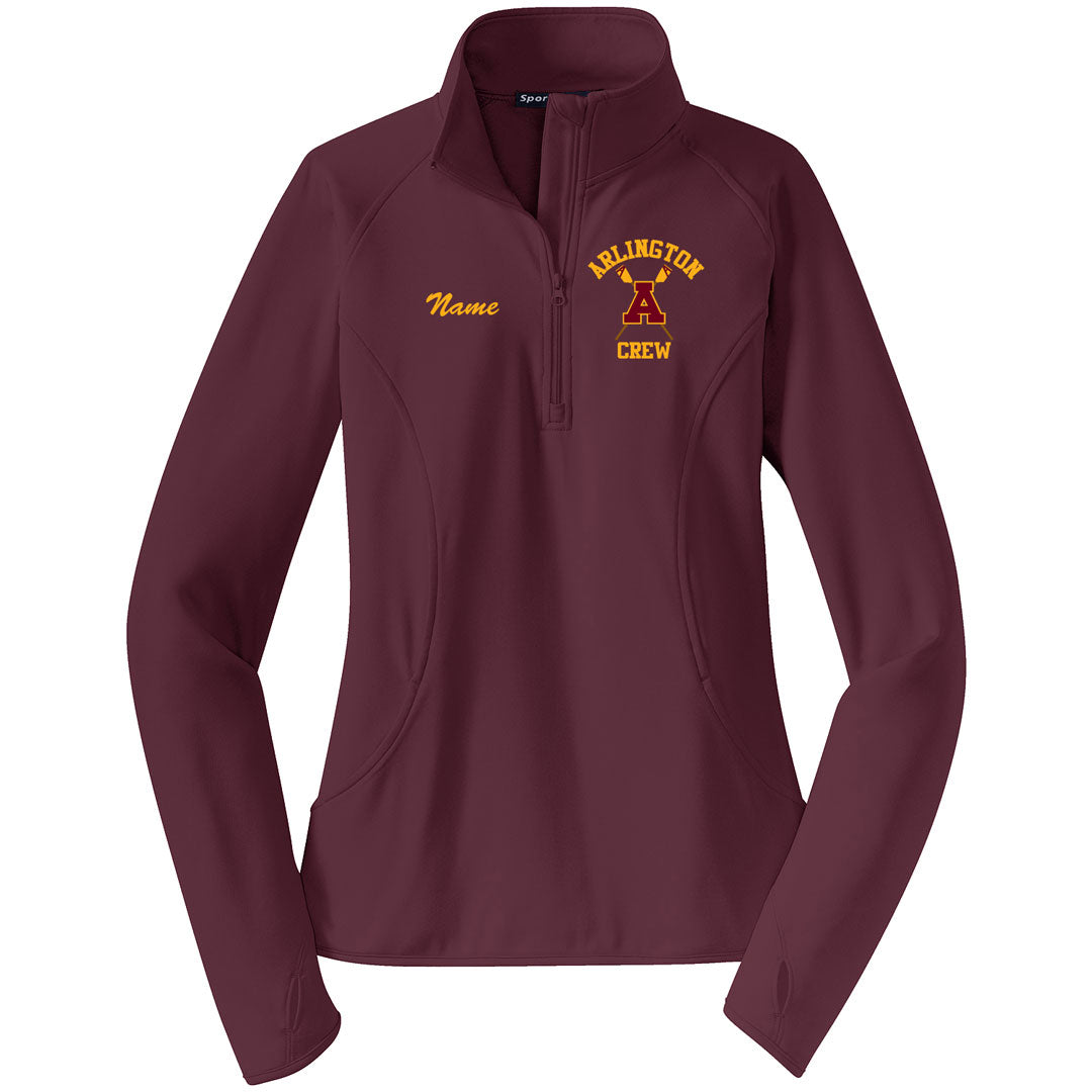Arlington Crew Ladies Performance Pullover w/ Thumbhole