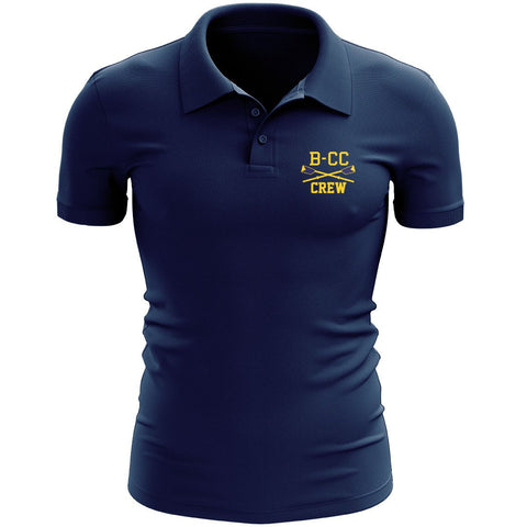 B-CC Crew Embroidered Performance Men's Polo