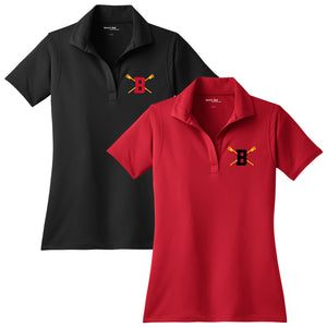 Berkeley High Crew Embroidered Performance Ladies Polo