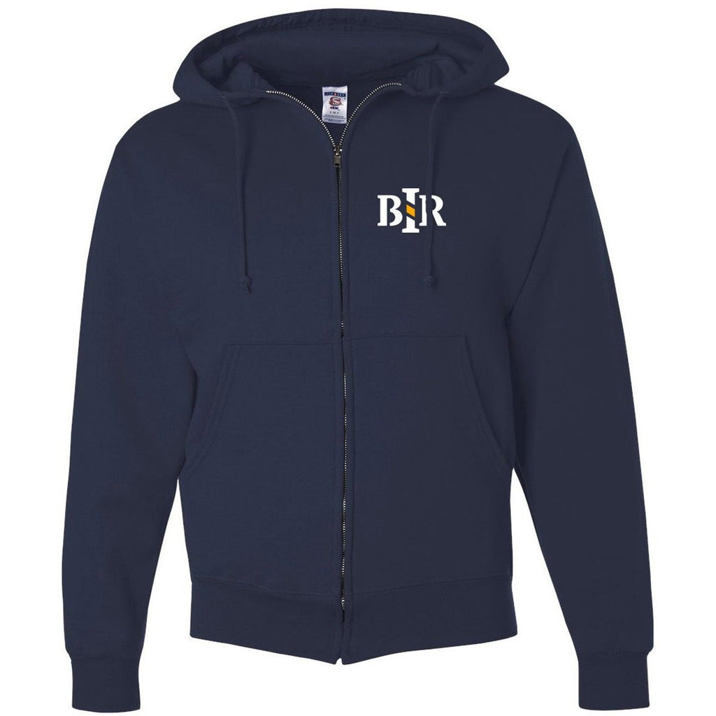BIR 50/50 Full Zip Hooded Sweatshirt