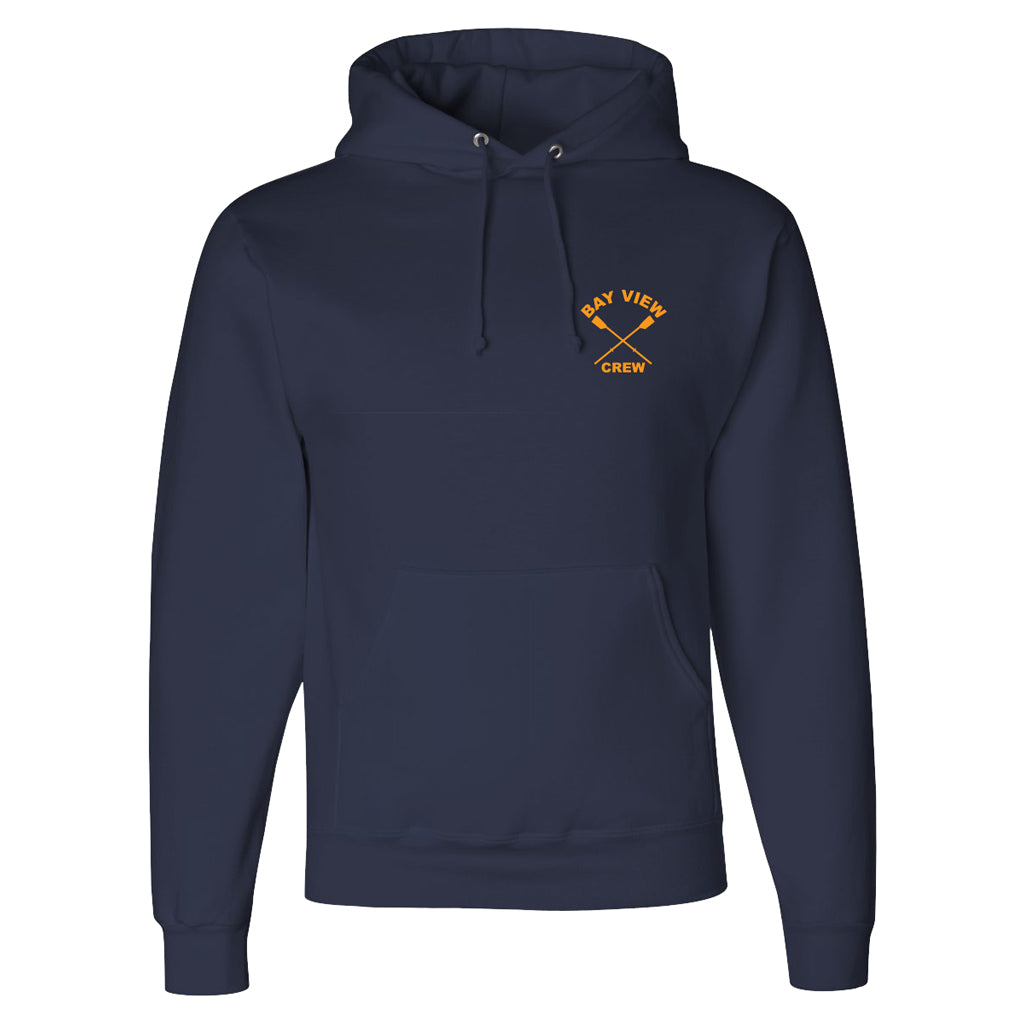 50/50 Hooded Bay View Crew Pullover Sweatshirt