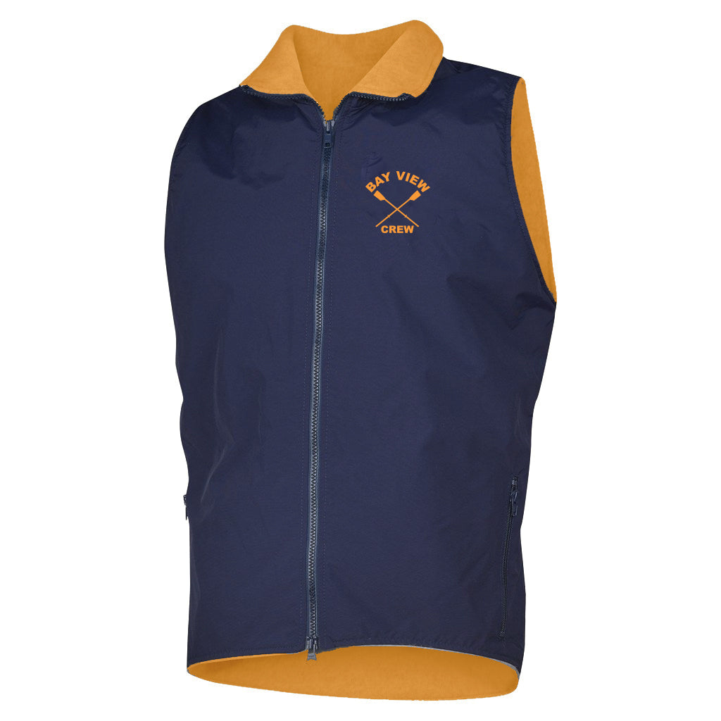 Bay View Crew Team Nylon/Fleece Vest